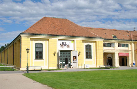 "The old stables of the Schönbrunn Palace in Vienna today houses the Museum of Carriages and Department of Court Uniforms. This museum has a strict ""no photo"" policy so we don't have any photos from inside the museum."