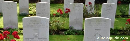 Geel War Cemetery - Belgium - World War II - Solidiers - War graves - Memorial - European Tourist Guide - euro-t-guide.com