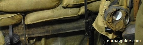 Hooge Crater Museum - Oostende - Ieper / Ypres - World War I - Trench - Weapon - uniform - European Tourist Guide - euro-t-guide.com