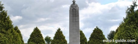 St. Julien Memorial  - Ypres - Belgium - World War I - European Tourist Guide - euro-t-guide.com