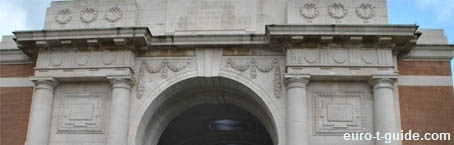 Menin Gate Memorial (to the Missing) - Ypres - Belgium - World War I - Solidiers - War graves - Memorial - European Tourist Guide - euro-t-guide.com
