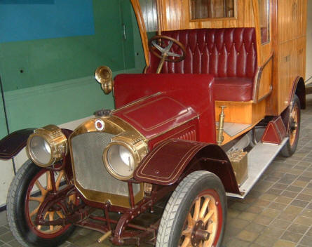 National Technical Museum (Prague) - An old car