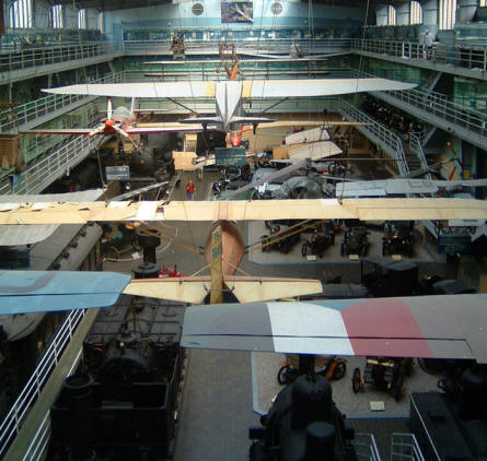 National Technical Museum (Prague) - Aircrafts, gliders, trains, helicopters and cars.