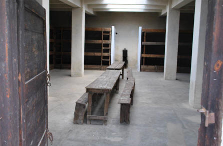 One of the cells in the new section of  the Theresienstadt Concentration Camp in Terezin.