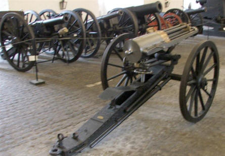 Canons of all ages displayed at the Danish Defence Museum (Tøjhusmuseet).