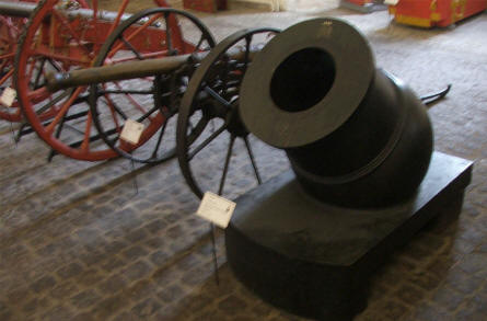 Canons and mortars of all ages - and sizes - are displayed at the Danish Defence Museum (Tøjhusmuseet).