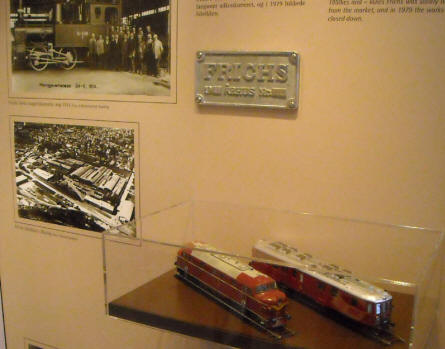 Study the history of train production (Frichs trains) in Aarhus at the Urban Museum in Aarhus.