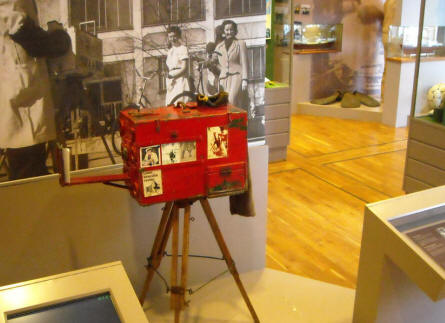 Study the historic movie production history of Aarhus at the Urban Museum in Aarhus.