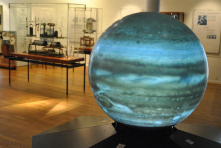 Astronomy plays a huge part in the science history collection at the Steno Museum in Aarhus.