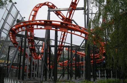 Cobra - the latest and wildest rollercoaster at Tivoli Friheden.