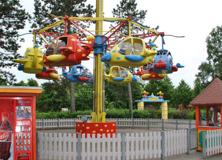 One of the amusements for younger children at Djurs Sommerland.