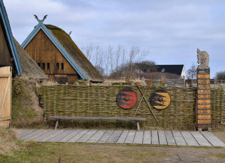A small part of the exhibitions at Bork Viking Harbour.