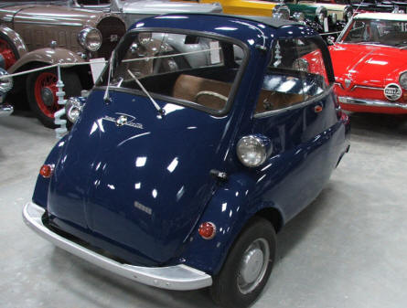 BMW Isetta at Jysk Automobile museum.