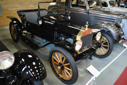 A 1914 Ford Model T displayed at the Jysk Automobile Museum.