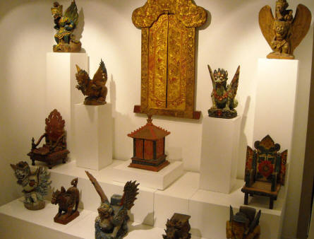 Some of the Asian art displayed at Holstebro Art Museum.