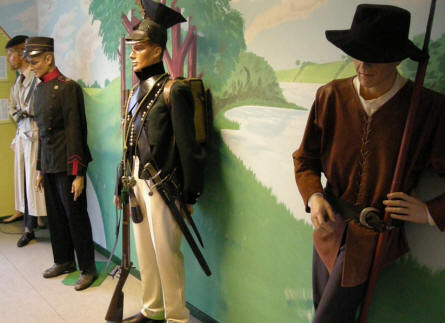 "Since the early days many types of freedom fighters and ""Home Guard""-like groups have fought in Denmark. Many of their uniforms are displayed at the Home Guard Museum."