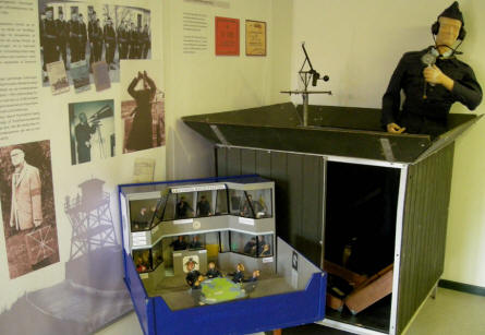 The history of the Royal Danish Observers Corps is displayed at the Home Guard Museum.