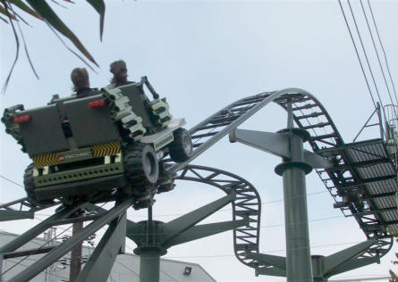 X-treme Racers rollercoaster