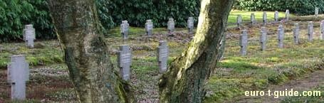 German Military & Refugee Cemetery - Oksbøl - Varde - Denmark - World War II - European Tourist Guide - euro-t-guide.com