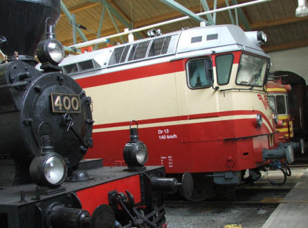 Vintage trains of all kinds are displayed at the Finnish Railway Museum in Hyvinkää.