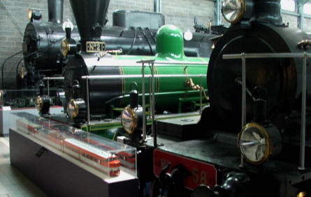 Some of the many vintage steam locomotives displayed at the Finnish Railway Museum in Hyvinkää.