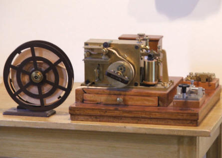A vintage telegraph is a part of the railway historic collection at the Finnish Railway Museum in Hyvinkää.