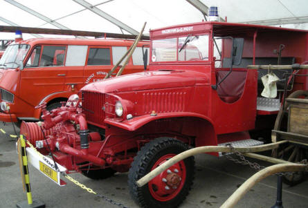 Château de Savigny-lès-Beaune also has small collection of fire fighting trucks.