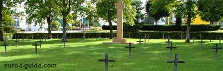 Briey German War Cemetery -  World War I Memorial - Metz - European Tourist Guide - euro-t-guide.com