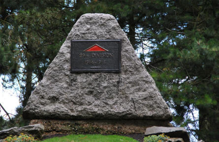 A memorial for the 29th Division at the Beaumont-Hamel Newfoundland Memorial.