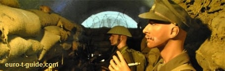 Somme Trench Museum - Somme 1916 - Albert - France -  World War I - European Tourist Guide - euro-t-guide.com