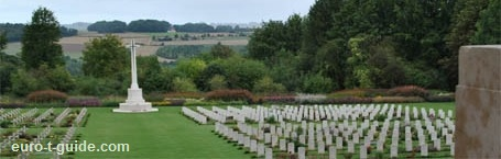 Thiepval Memorial - Thiepval - Albert - Amiens - France - World War I - Somme - Cemetery - European Tourist Guide - euro-t-guide.com