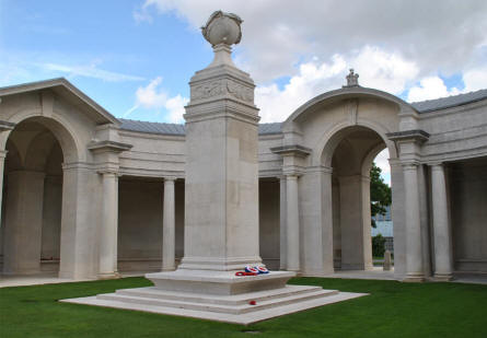 The Arras Flying Services Memorial at the Faubourg-d'Amiens Cemetery in Arras.