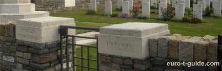 St Nicolas British Cemetery - Arras - France - World War I - European Tourist Guide - euro-t-guide.com