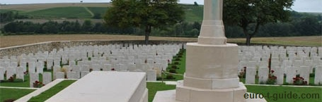 Chambrecy British Cemetery -  World War I Memorial - European Tourist Guide - euro-t-guide.com