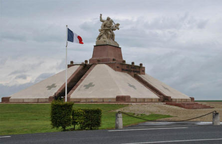 The Navarin Monument - near Suippes.