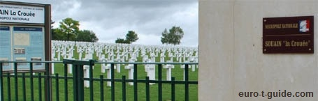 Souain French National War Cemetery -  World War I Memorial - European Tourist Guide - euro-t-guide.com