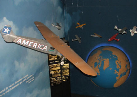 "The America ""Gold Beach"" museum at Ver sur Mer has a section that celebrates the airmail flights between France and the USA."