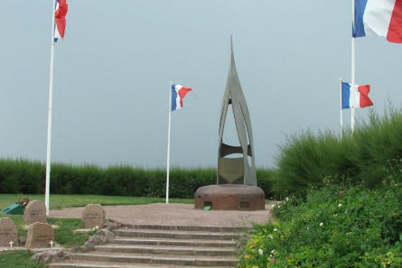 The French Commando Memorial at Ouistreham.