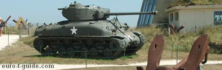 euro-t-guide - World War II - D-day Museums, Battlefields & Sights - France - European Tourist Guide