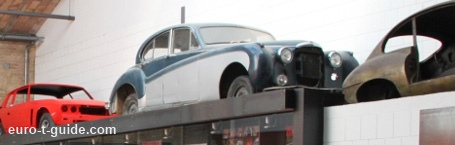 Classic Remise Berlin  - Berlin - Germany - Automobile - European Tourist Guide - euro-t-guide.com