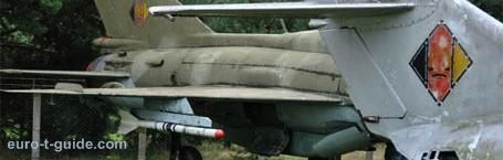 Airfield Museum Cottbus - Germany - Aircraft - Helicopter - Jet - MIG - European Tourist Guide - euro-t-guide.com