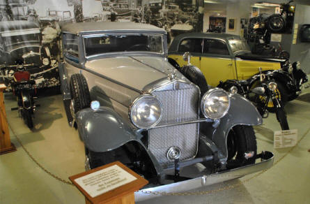 A 1931 Horch 470 displayed at the Museum of Saxon Vehicles in Chemnitz.