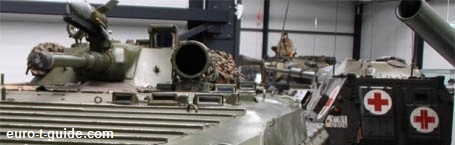 euro-t-guide - Military Museums & Sights - Europe - European Tourist Guide