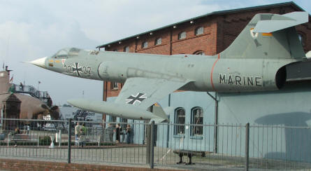 F-104 Starfighter used by the German Marine.