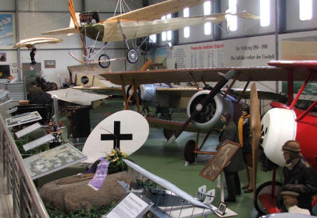 Some of the vintage aircrafts at the Hannover Aircraft Museum - Laatzen.