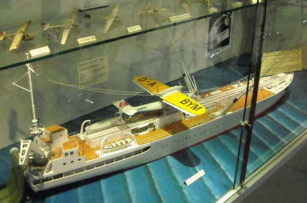 One of the many very interesting models at the Hannover Aircraft Museum - Laatzen.