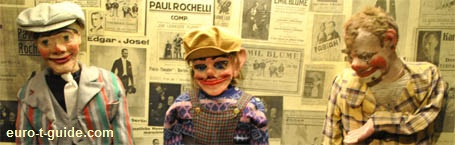 Museum of Theatre Puppets - Lübeck - Germany - European Tourist Guide - euro-t-guide.com