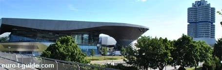 BMW Welt / World - Germany - Automobile & Motorcycle  Museum - European Tourist Guide - euro-t-guide.com