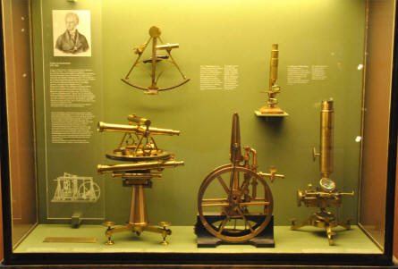 Some of the many scientific instruments displayed at the Deutsches Museum München.
