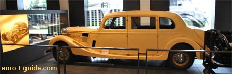 Museum for Historic Maybach Vehicles  - Germany - Automobile/Car Museum - European Tourist Guide - euro-t-guide.com